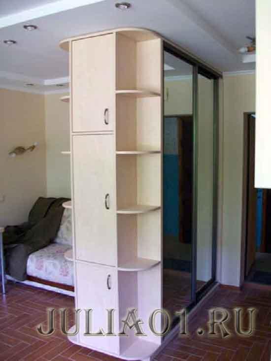 двухсторонний шкаф-купе фото