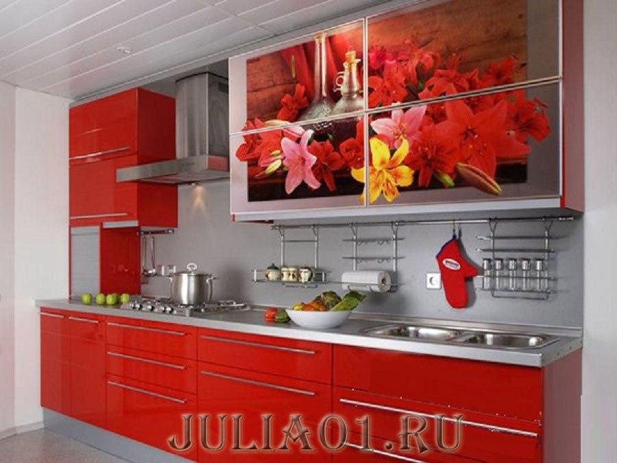 кухонные гарнитуры прямые фото