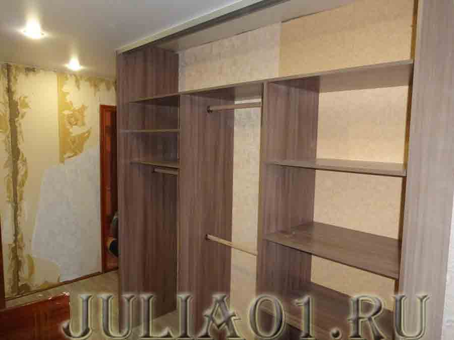 Красивая мебель юлия - встроенные шкафы-купе и гардеробы на .